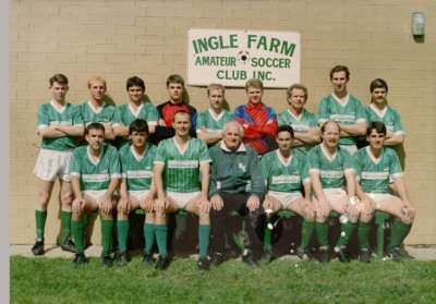 1992 Ingle Farm A Team - Division 3 Champions
