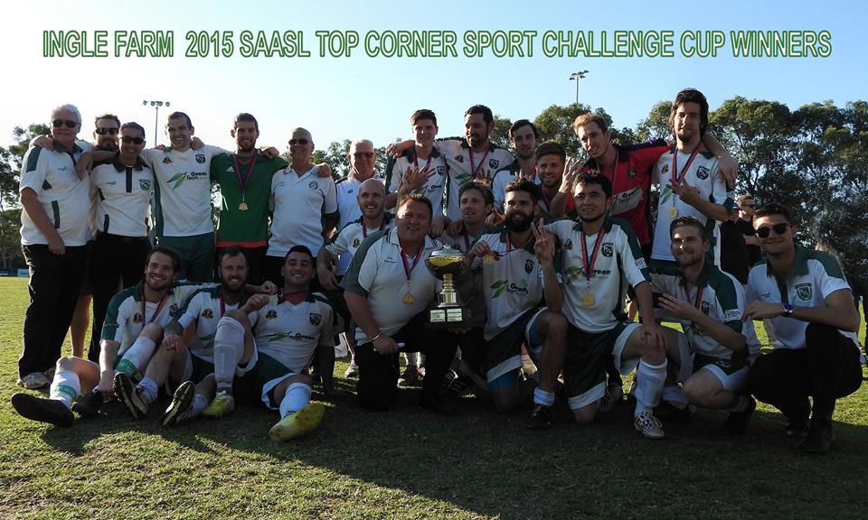 Ingle Farm Soccer Club 2015 SAASL Cup Winners